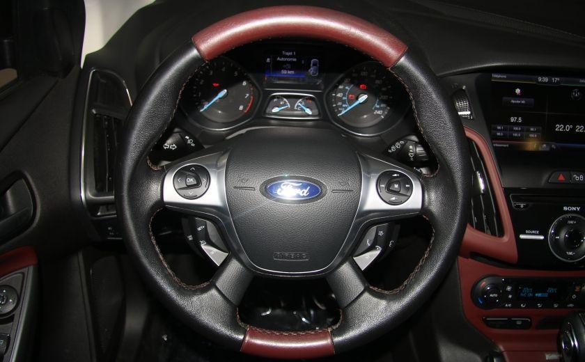 2013 Ford Focus TITANIUM AUTO A/C CUIR TOIT NAV MAGS BLUETHOOT #15