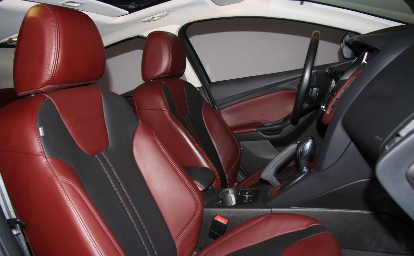 2013 Ford Focus TITANIUM AUTO A/C CUIR TOIT NAV MAGS BLUETHOOT #25