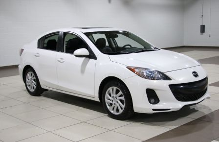 2012 Mazda 3 GS-SKY CUIR TOIT MAGS BLUETOOTH #0