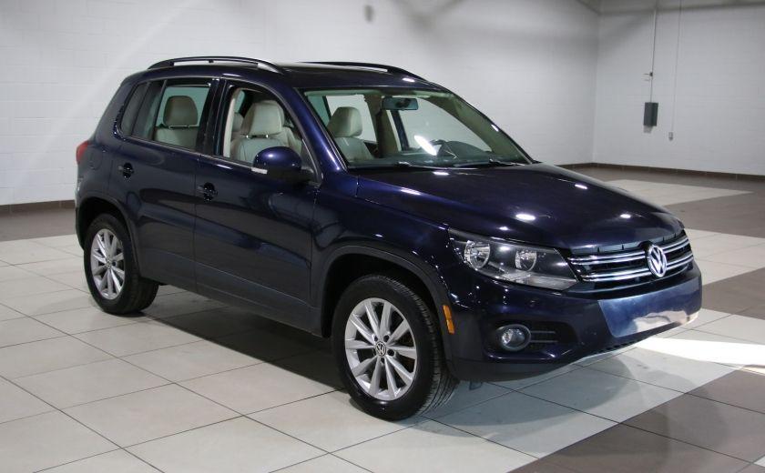 2013 Volkswagen Tiguan  4MOTION A/C CUIR TOIT MAGS BLUETOOTH #0