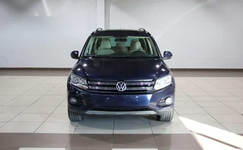 2013 Volkswagen Tiguan  4MOTION A/C CUIR TOIT MAGS BLUETOOTH #1