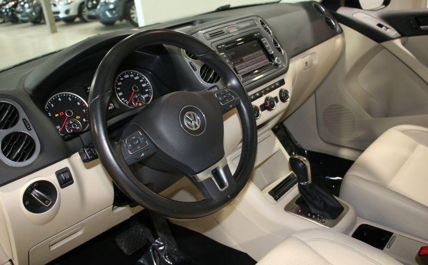 2013 Volkswagen Tiguan  4MOTION A/C CUIR TOIT MAGS BLUETOOTH #8