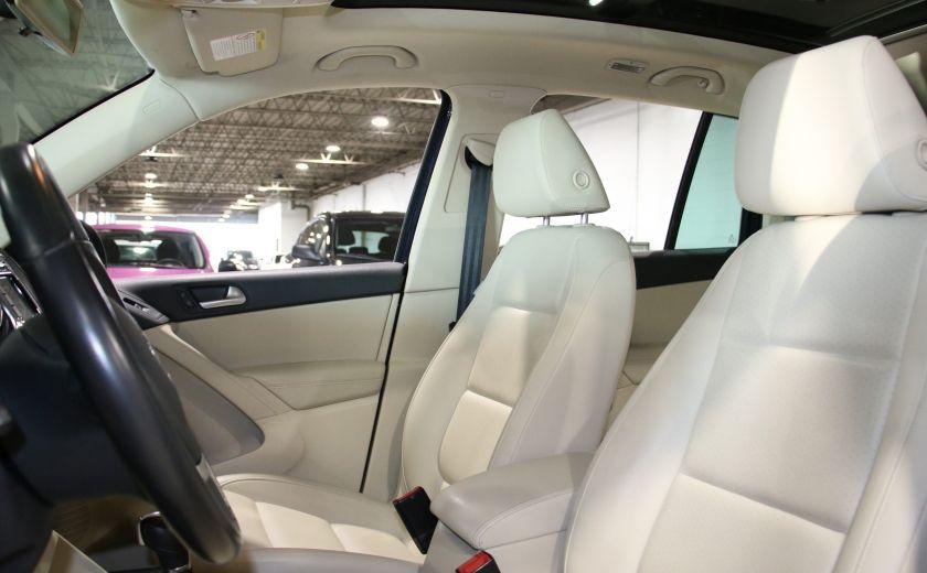 2013 Volkswagen Tiguan  4MOTION A/C CUIR TOIT MAGS BLUETOOTH #9
