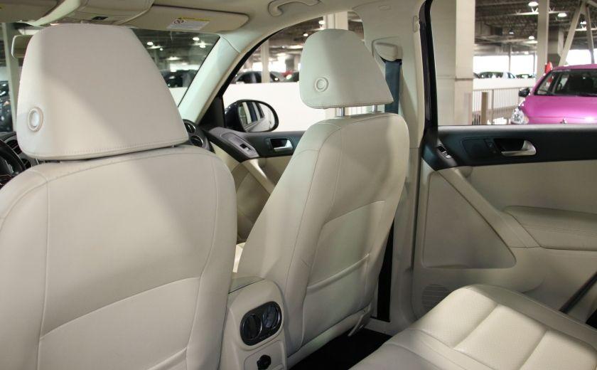 2013 Volkswagen Tiguan  4MOTION A/C CUIR TOIT MAGS BLUETOOTH #19