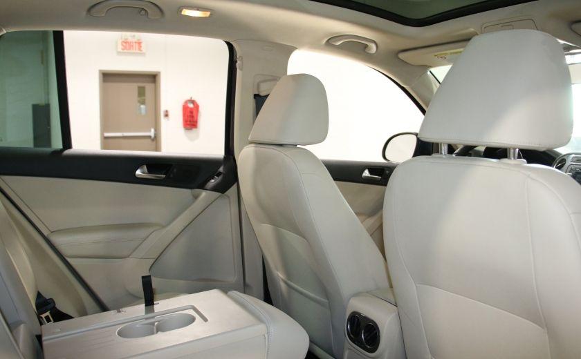 2013 Volkswagen Tiguan  4MOTION A/C CUIR TOIT MAGS BLUETOOTH #21