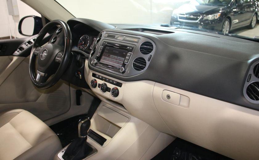 2013 Volkswagen Tiguan  4MOTION A/C CUIR TOIT MAGS BLUETOOTH #23