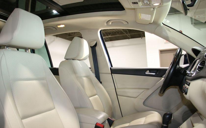2013 Volkswagen Tiguan  4MOTION A/C CUIR TOIT MAGS BLUETOOTH #25