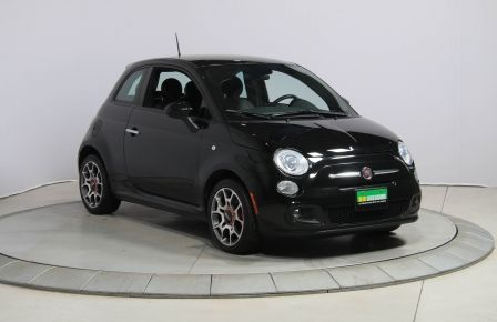 2015 Fiat 500 Sport AUTO CUIR A/C GR ELECT MAGS #0