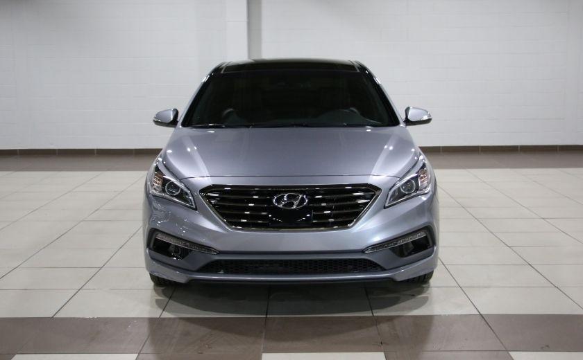 2016 Hyundai Sonata 2.0T Sport Ultimate AUTO A/C CUIR TOIT MAGS CAMERA #1
