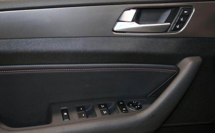 2016 Hyundai Sonata 2.0T Sport Ultimate AUTO A/C CUIR TOIT MAGS CAMERA #10