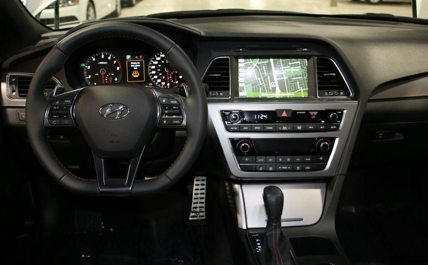 2016 Hyundai Sonata 2.0T Sport Ultimate AUTO A/C CUIR TOIT MAGS CAMERA #14
