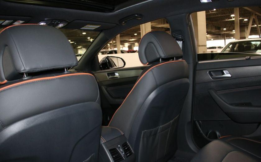 2016 Hyundai Sonata 2.0T Sport Ultimate AUTO A/C CUIR TOIT MAGS CAMERA #25