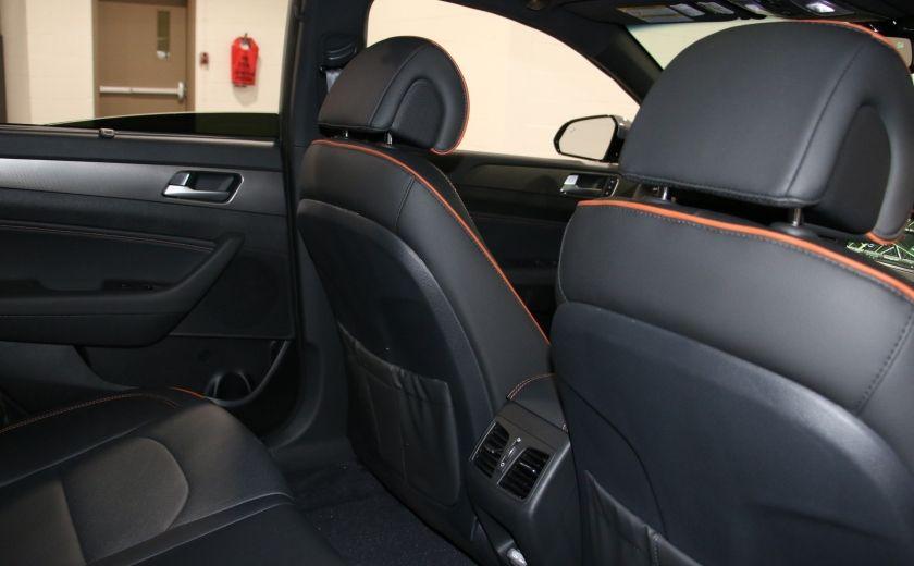 2016 Hyundai Sonata 2.0T Sport Ultimate AUTO A/C CUIR TOIT MAGS CAMERA #27