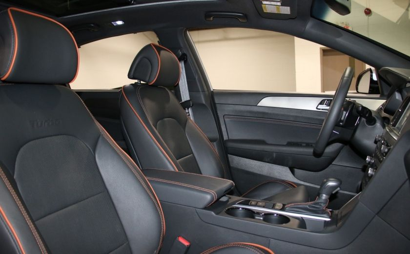 2016 Hyundai Sonata 2.0T Sport Ultimate AUTO A/C CUIR TOIT MAGS CAMERA #31