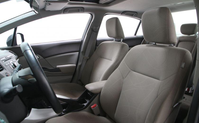 2012 Honda Civic EX #8
