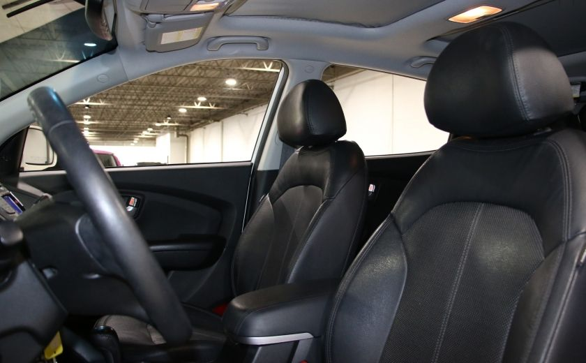 2013 Hyundai Tucson Limited AWD AUTO CUIR TOIT MAGS BLUETOOTH #9