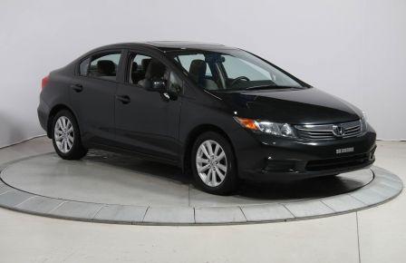 2012 Honda Civic EX AUTO A/C GR ELECT TOIT MAGS BLUETOOTH #0