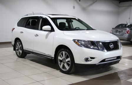 2014 Nissan Pathfinder PLATINUM TECH AWD CUIR TOIT NAV DVD CAMERA 360 #0