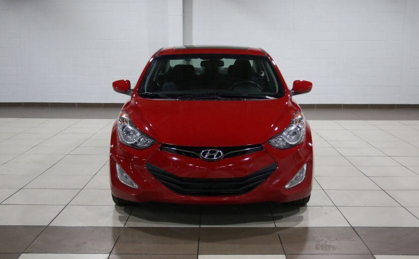 2013 Hyundai Elantra GLS AUTO A/C TOIT MAGS BLUETOOTH #1