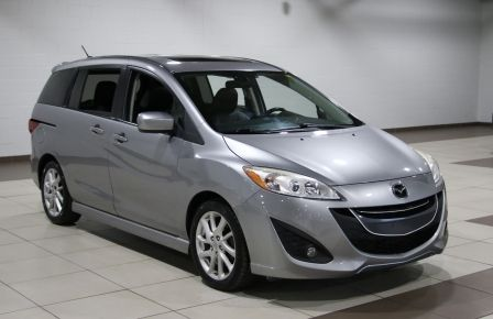 2012 Mazda 5 GT AUTO A/C TOIT MAGS BLUETOOTH 6 PASS #0