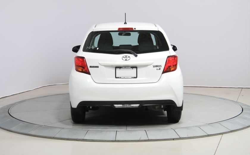 2015 Toyota Yaris LE A/C BLUETOOTH #3