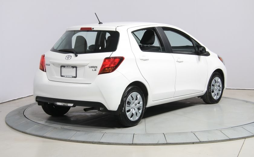 2015 Toyota Yaris LE A/C BLUETOOTH #4