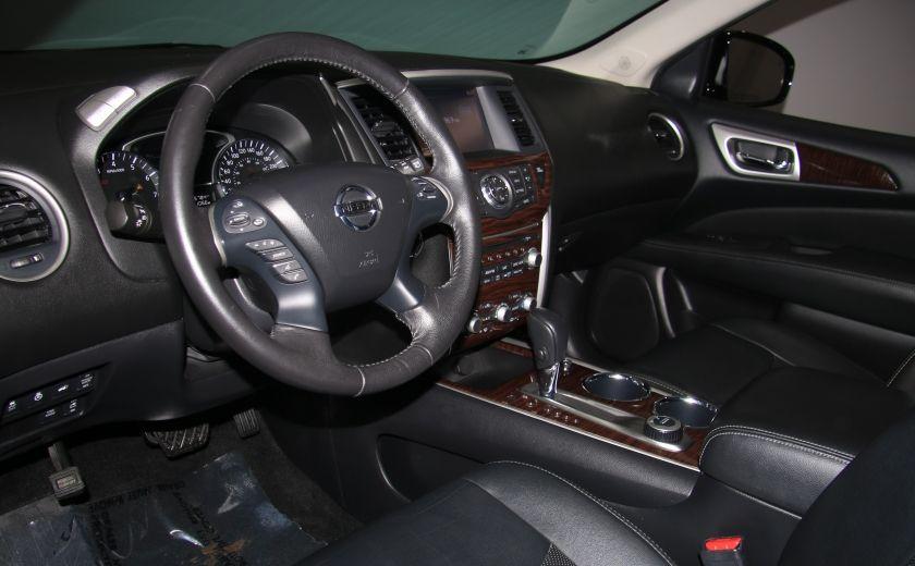 2014 Nissan Pathfinder Platinum AWD CUIR TOIT NAVIGATION DVD MAGS 7PASSAG #7