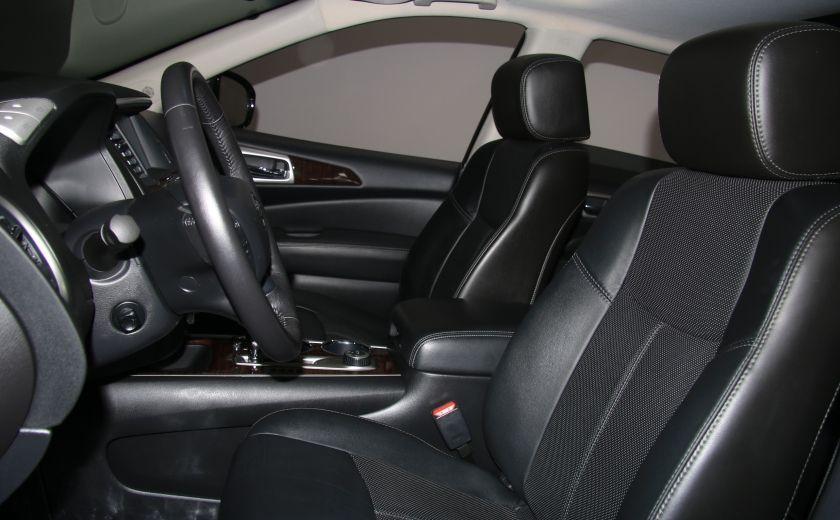 2014 Nissan Pathfinder Platinum AWD CUIR TOIT NAVIGATION DVD MAGS 7PASSAG #8