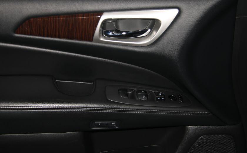 2014 Nissan Pathfinder Platinum AWD CUIR TOIT NAVIGATION DVD MAGS 7PASSAG #9