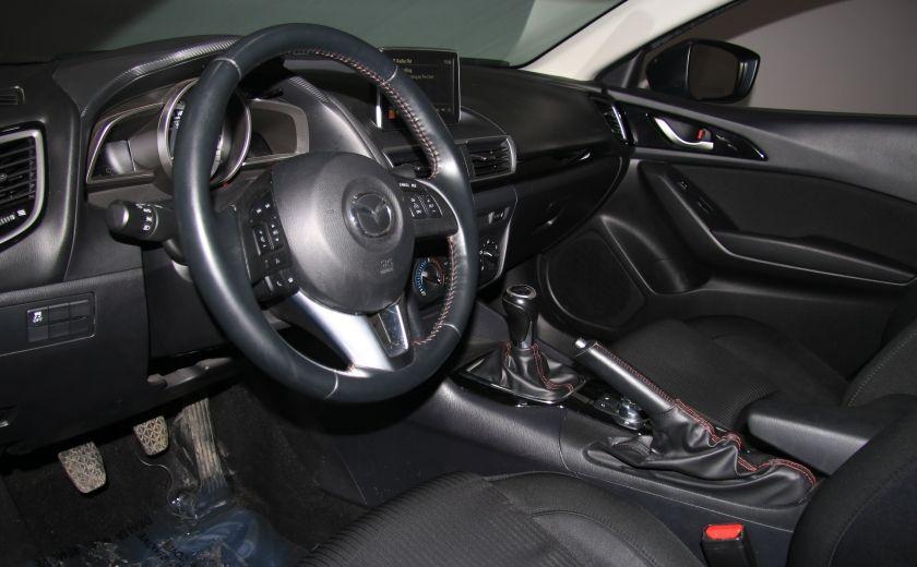 2014 Mazda 3 GS-SKYACTIVE A/C GR ELECT MAGS CAMERA RECUL #8