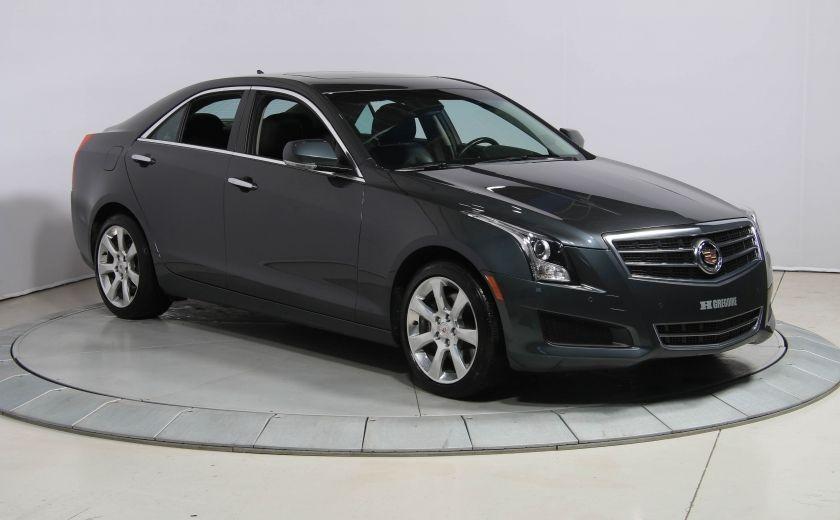 2013 Cadillac ATS LUXURY AWD V6 CUIR TOIT NAVIGATION CAMERA RECUL #0