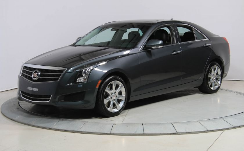 2013 Cadillac ATS LUXURY AWD V6 CUIR TOIT NAVIGATION CAMERA RECUL #2