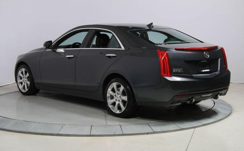 2013 Cadillac ATS LUXURY AWD V6 CUIR TOIT NAVIGATION CAMERA RECUL #4
