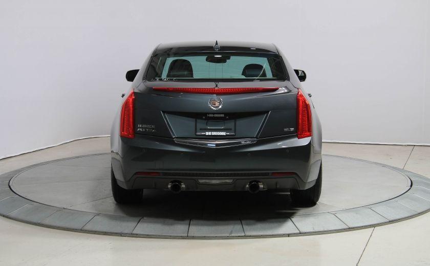 2013 Cadillac ATS LUXURY AWD V6 CUIR TOIT NAVIGATION CAMERA RECUL #5