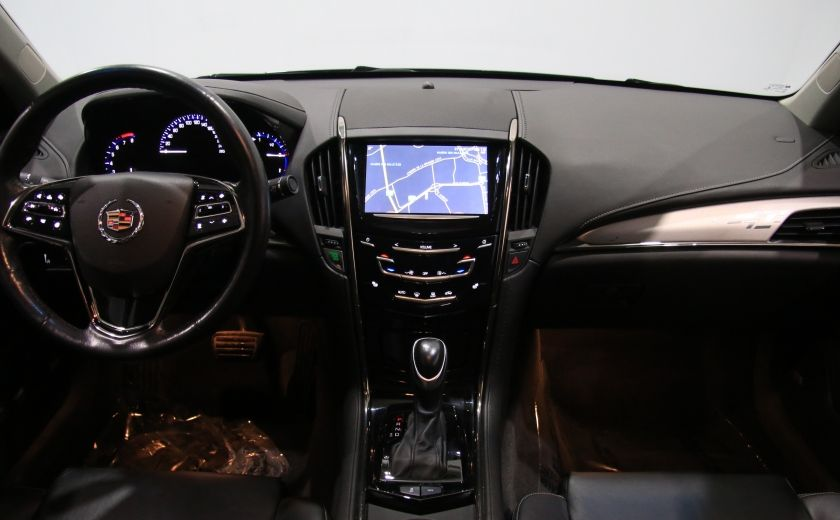 2013 Cadillac ATS LUXURY AWD V6 CUIR TOIT NAVIGATION CAMERA RECUL #12