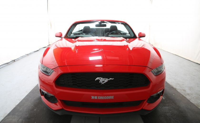 2016 Ford Mustang V6 AUTO A/C TOIT CONVERTIBLE MAGS CAMERA RECUL #1