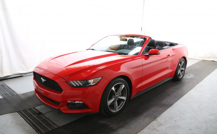 2016 Ford Mustang V6 AUTO A/C TOIT CONVERTIBLE MAGS CAMERA RECUL #2