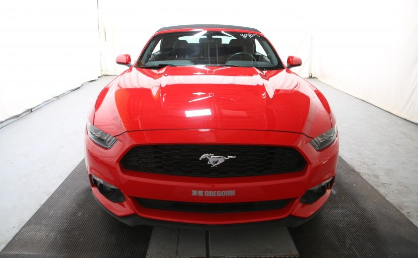 2016 Ford Mustang V6 AUTO A/C TOIT CONVERTIBLE MAGS CAMERA RECUL #7