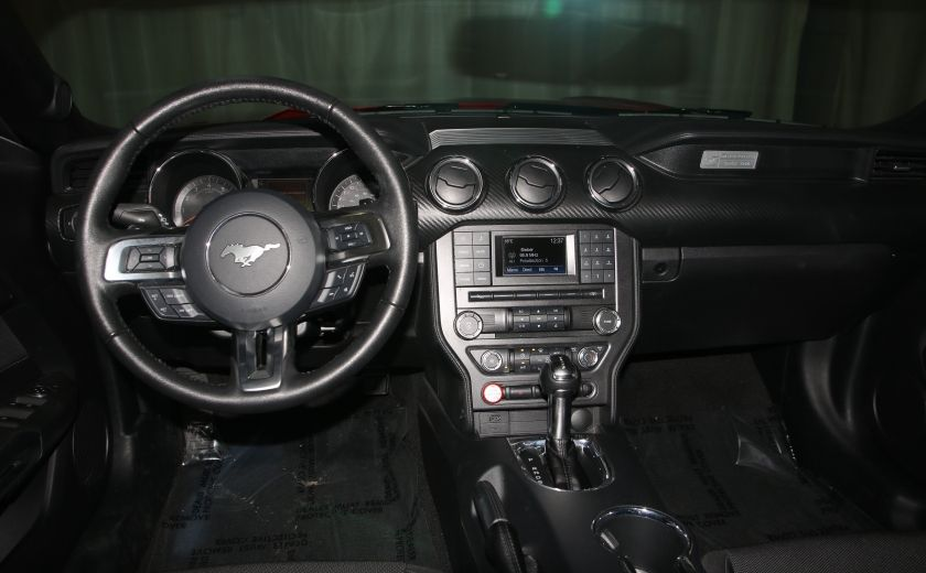 2016 Ford Mustang V6 AUTO A/C TOIT CONVERTIBLE MAGS CAMERA RECUL #18