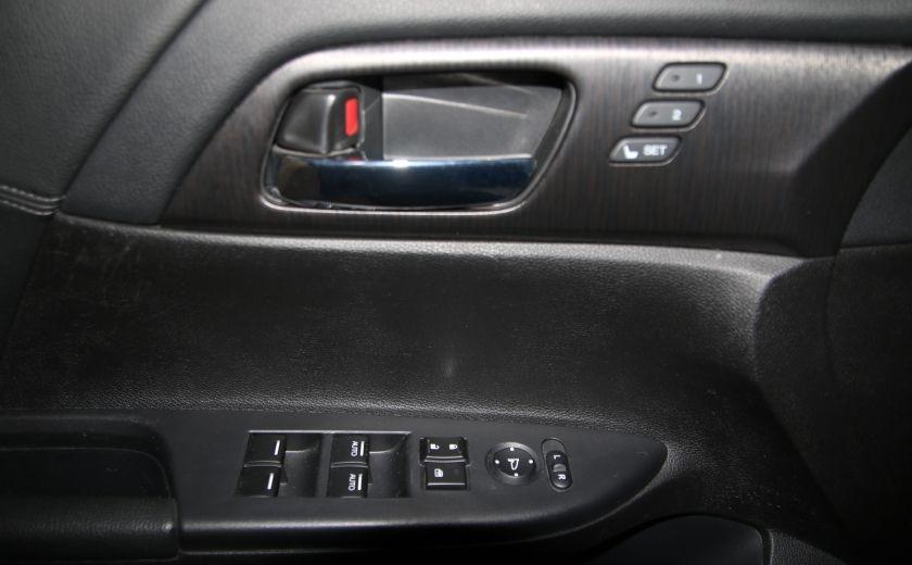 2013 Honda Accord  EX-L AUTO A/C CUIR TOIT MAGS CAMERA RECUL #8