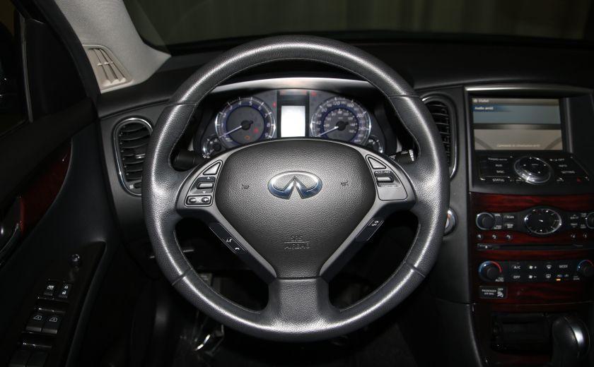2013 Infiniti EX37 AWD AUTO A/C CUIR TOIT MAGS #12
