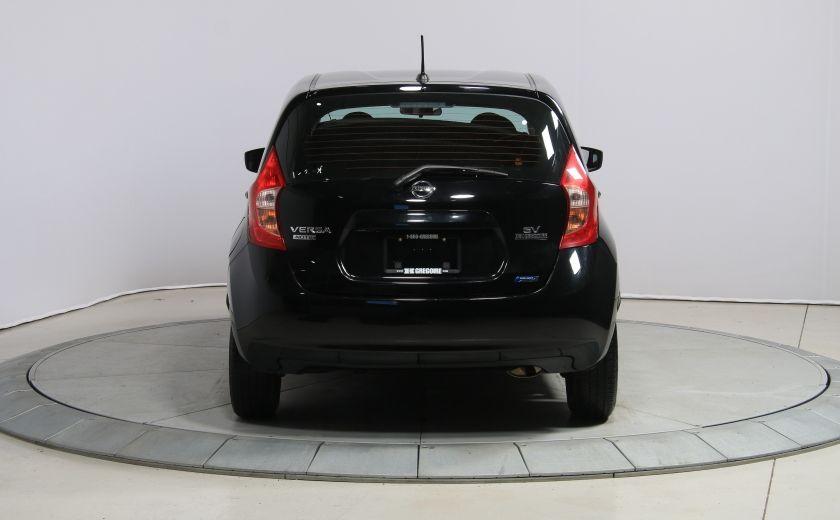 2015 Nissan Versa SV CAMERA RECUL A/C BLUETOOTH #5