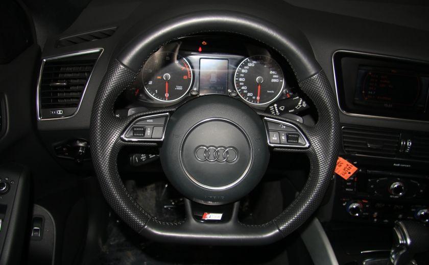 2014 Audi Q5 3.0T Progressiv S-line Toit pano #15