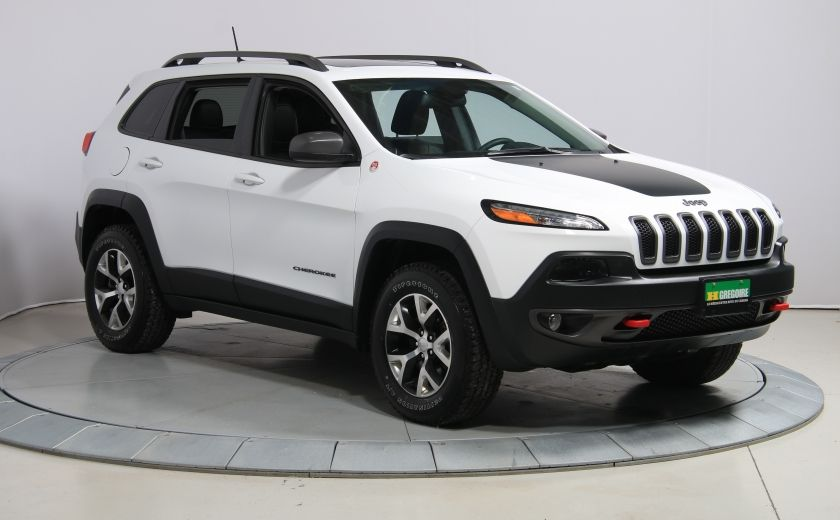 2016 Jeep Cherokee Trailhawk 4WD CUIR TOIT PANO NAVIGATION MAGS #0