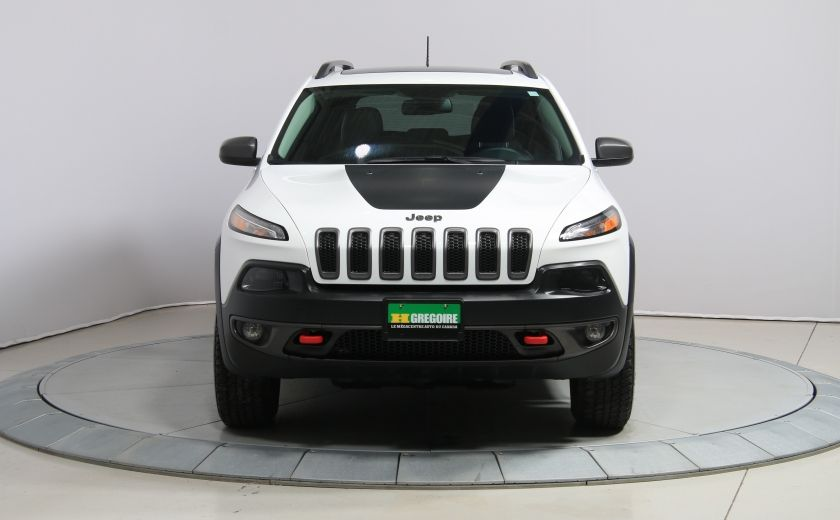 2016 Jeep Cherokee Trailhawk 4WD CUIR TOIT PANO NAVIGATION MAGS #1