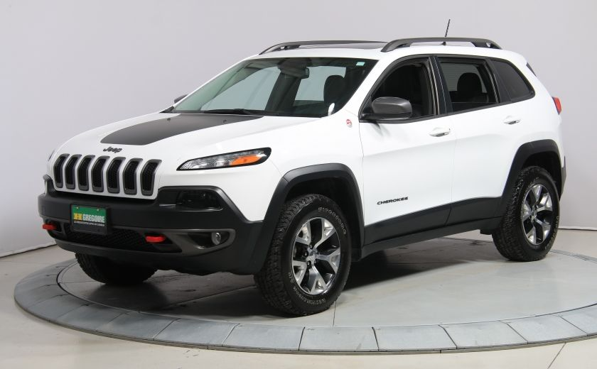 2016 Jeep Cherokee Trailhawk 4WD CUIR TOIT PANO NAVIGATION MAGS #2