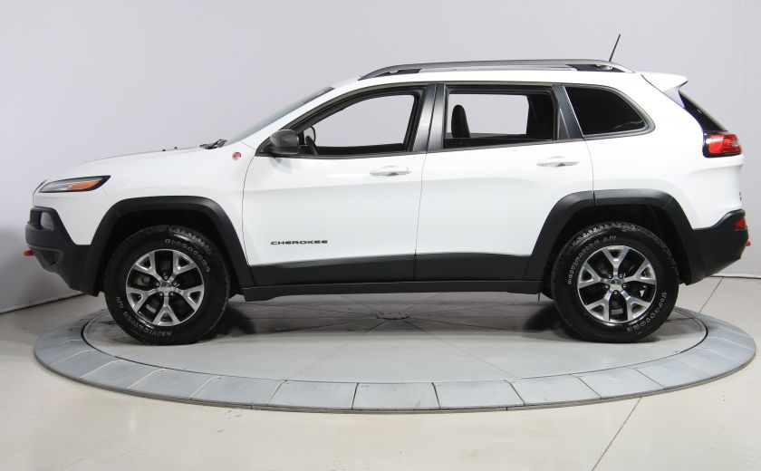 2016 Jeep Cherokee Trailhawk 4WD CUIR TOIT PANO NAVIGATION MAGS #3