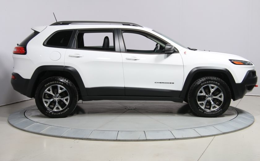 2016 Jeep Cherokee Trailhawk 4WD CUIR TOIT PANO NAVIGATION MAGS #7