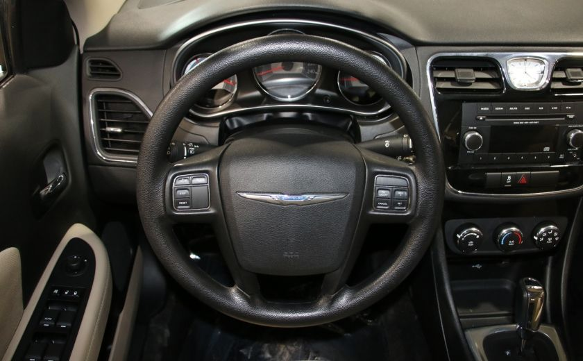 2013 Chrysler 200 LX A/C GR ELECT MAGS #13
