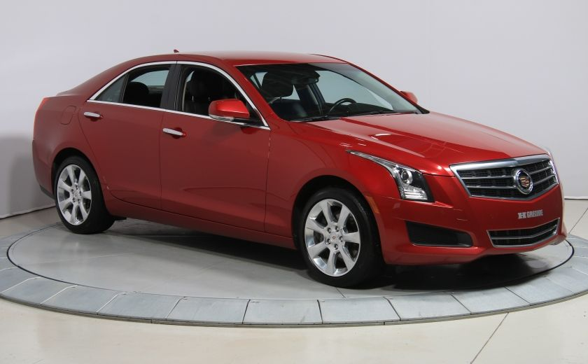 2013 Cadillac ATS Luxury AWD CUIR MAGS BLUETOOTH #0